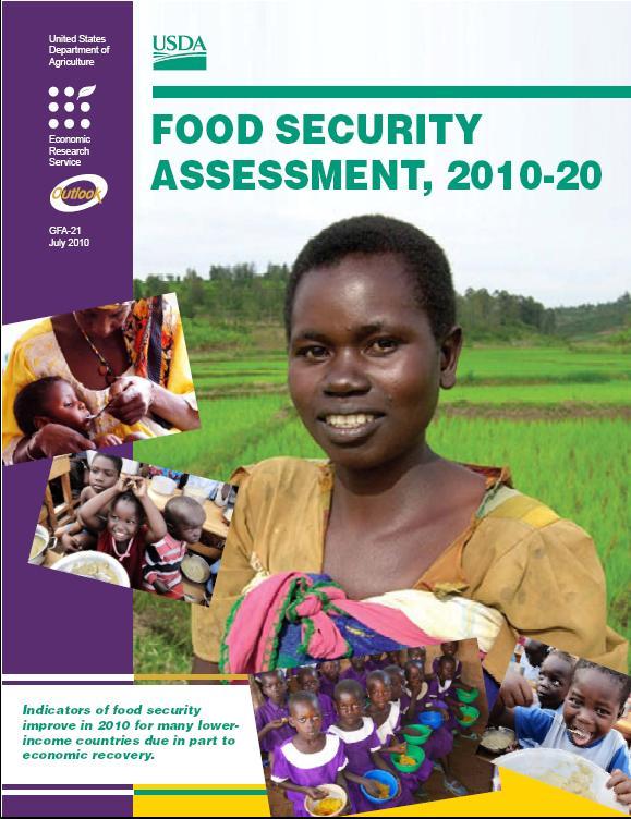 USDA report cover
